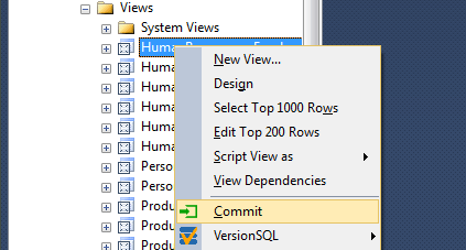 VersionSQL 0.20 Screen shot
